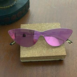 Rose Gold Diff Sunglasses